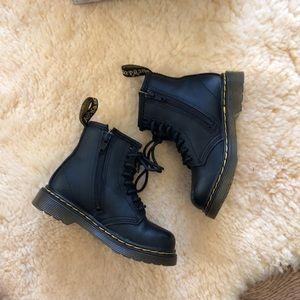 Dr. Martens Shoes - Dr martens air wair toddler boots black